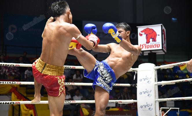 ศึกแม่ไม้มวยไทยเพชรสาทิสชนะแต้มขาดลอย