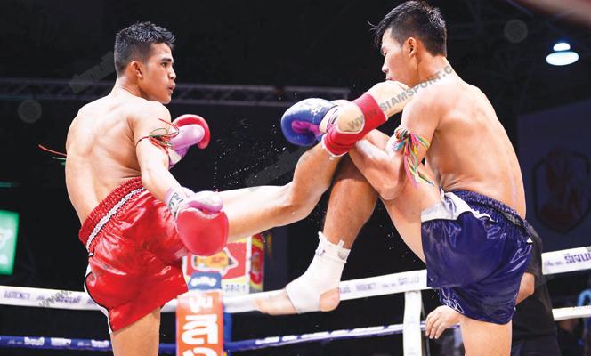 ศึกมวยดีวิถีไทยฤทธิเดชได้แกร่งหวดคว้าชัย