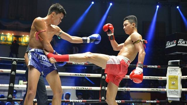 ศึกมวยไทยเกียรติเพชรกายสิทธิ์ ยำน็อกยก 2