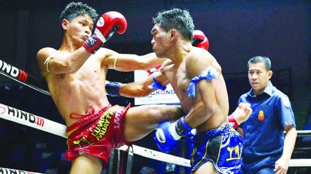 ศึกมวยไทยลุมพินี TKO วายุน้อยได้แค่เจ๊า