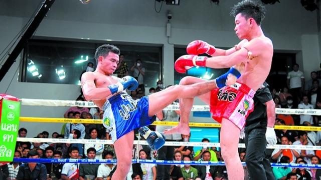 ศึกมวยไทย7สีเพชรโชว์เก่าพลิกเกมปลายยก4แซงสนุก